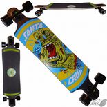 "SANTA CRUZ ""Rob Hand"" Drop Thru Skateboard Longboard 40"" Downhill Slide Freeride"